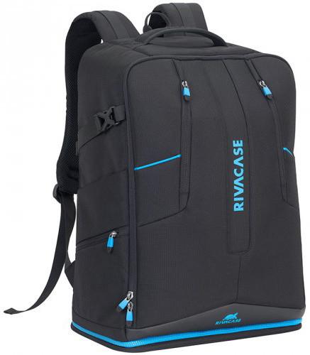 """RivaCase 7890 speciální batoh na dron a laptop 16"""" large, černá"""