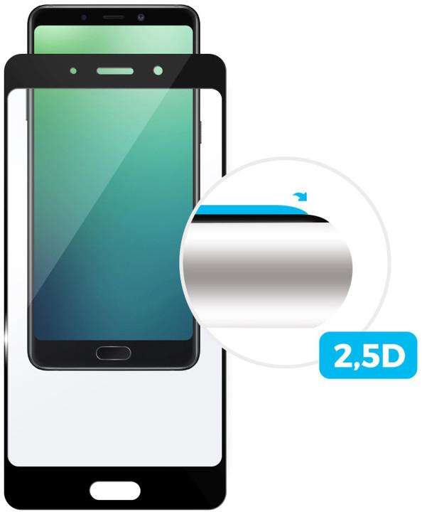 FIXED Full-cover ochranné tvrzené sklo pro Huawei P20, přes celý displej, černé
