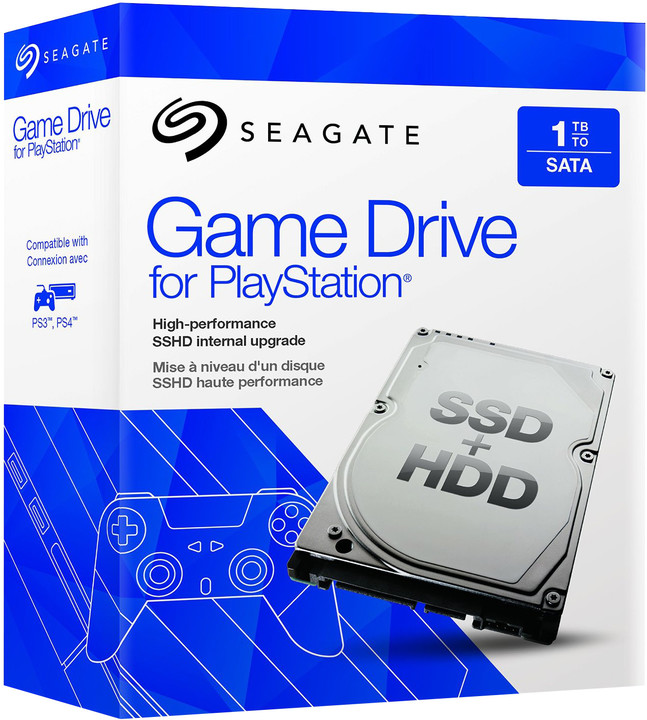 Seagate PS4 1TB SSHD upgrade kit
