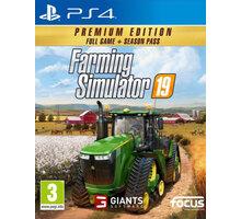 Farming Simulator 19 - Premium Edition (PS4) Elektronické předplatné deníku Sport a časopisu Computer na půl roku v hodnotě 2173 Kč