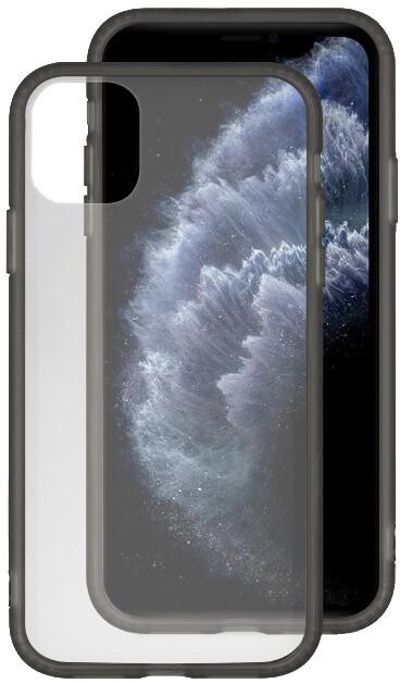 EPICO glass case pro iPhone 11 Pro, transparentní/černá