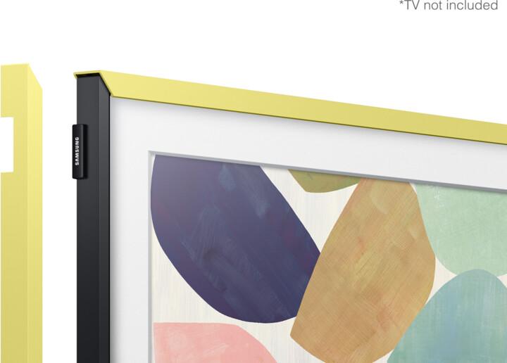 """Samsung výměnný rámeček pro Frame TV (2020) 32"""", citronová"""