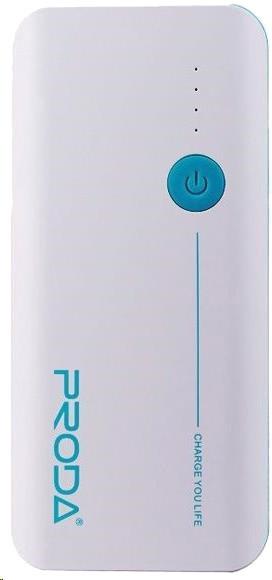 Remax Proda, 20000 mAh, bílo-modrá