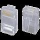 Solarix konektor RJ45 CAT5E UTP 8p8c nestíněný neskládaný na drát KRJ45/5SLD