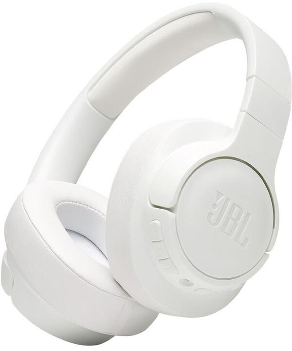 JBL Tune 750BTNC, bílá