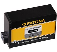 PATONA baterie pro digitální kameru Garmin VIRB 360 1100mAh Li-lon 3,8V - PT1280