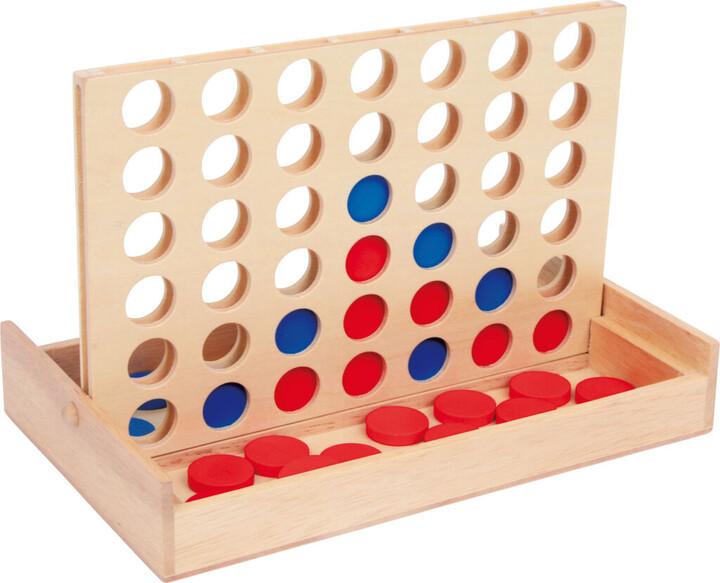 Desková hra Small Foot Piškvorky, cestovní, dřevěné