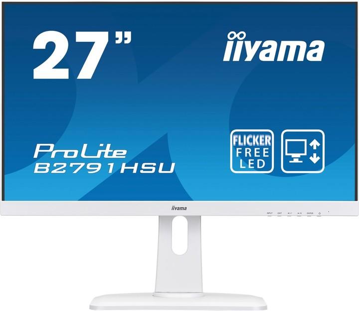 "iiyama ProLite B2791HSU-W1 - LED monitor 27"""