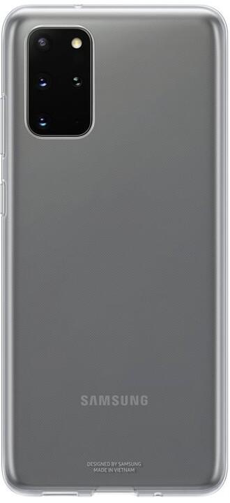 Samsung zadní kryt Clear Cover pro Galaxy S20+, transparentní