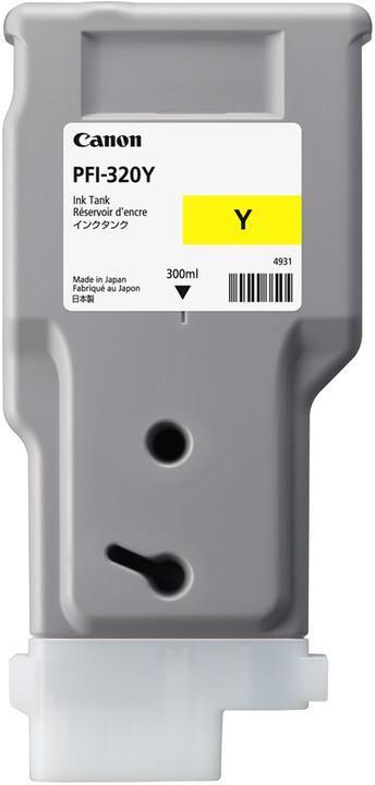 Canon PFI-320Y, yellow