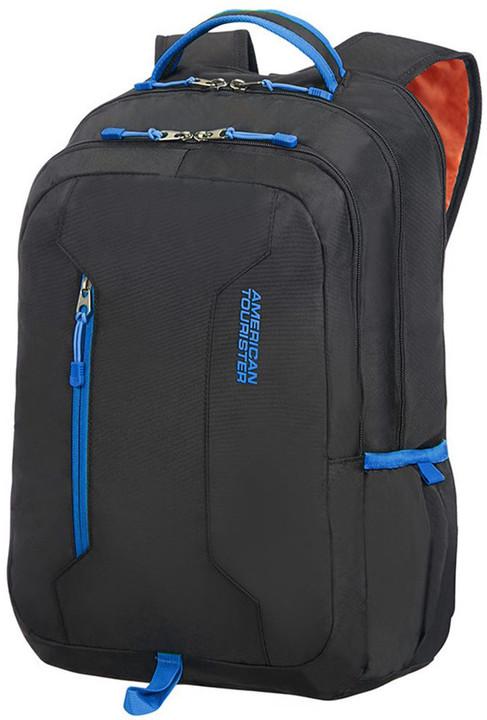 """Samsonite American Tourister URBAN GROOVE UG4 BACKPACK 15,6"""", černá/modrá"""