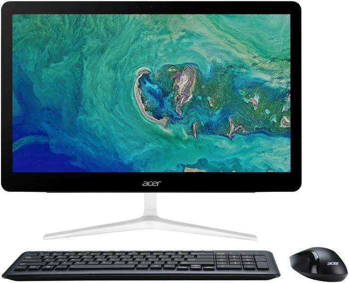 Acer Aspire Z24-880, stříbrná