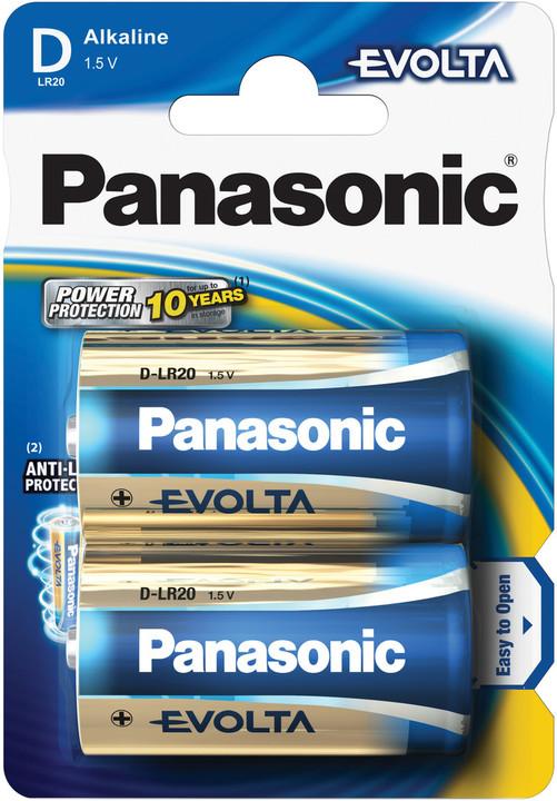 Panasonic baterie LR20 2BP D Evolta alk