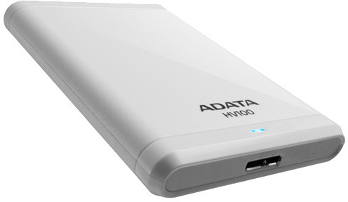 ADATA HV100 - 1TB, bílá