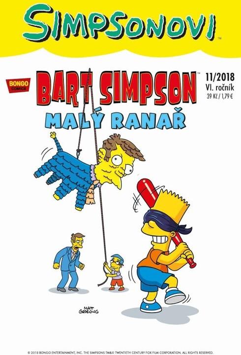 Komiks Bart Simpson: Malý ranař, 11/2018