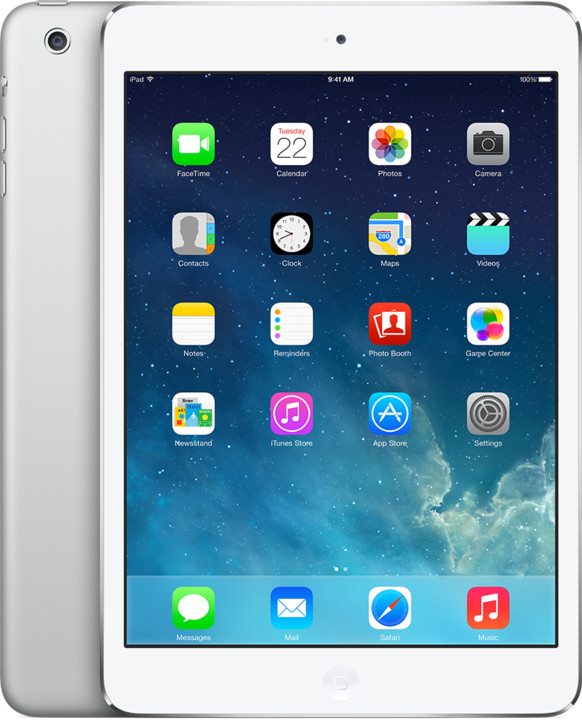 APPLE iPad Mini, Retina, 64GB, Wi-Fi, stříbrná