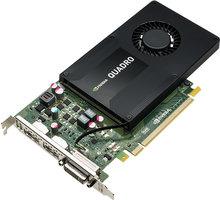 PNY Quadro K2200, 4GB GDDR5 - VCQK2200-PB