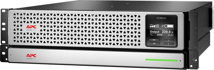 APC Smart SRT Li-Ion 1500VA, RM, 230V, 3U, síťová karta