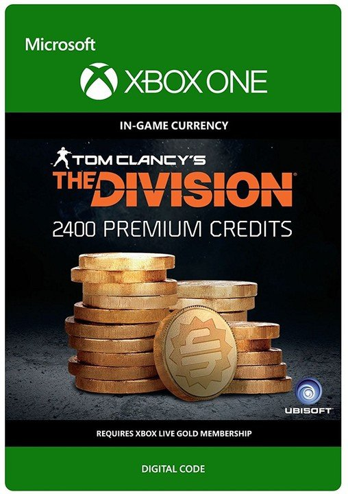 Tom Clancy's The Division: 2400 Premium Credits (Xbox ONE) - elektronicky