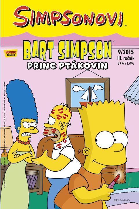 Komiks Bart Simpson: Princ ptákovin, 9/2015