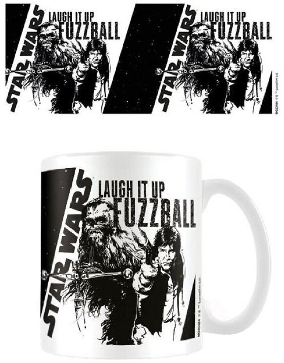 Hrnek Star Wars - Laugh it up, Fuzzball!