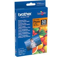 Brother Foto papír BP71GP50, 10x15 cm, 50 listů, 260g/m2, lesklý