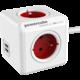 PowerCube EXTENDED USB prodlužovací přívod 1,5m - 4 zásuvka, červená  + 300 Kč na Mall.cz