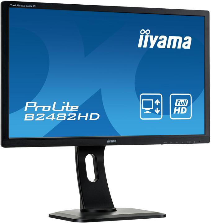 """iiyama ProLite B2482HD-B1 - LED monitor 24"""""""