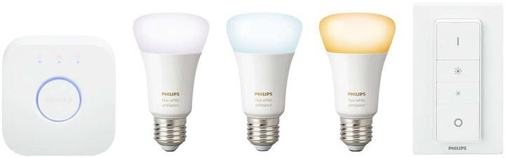 Philips Hue white ambiance 9.5W A60 E27 set EU