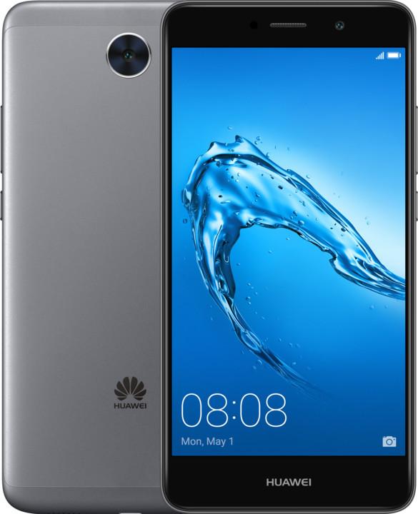 Huawei Y7, Dual Sim, šedá