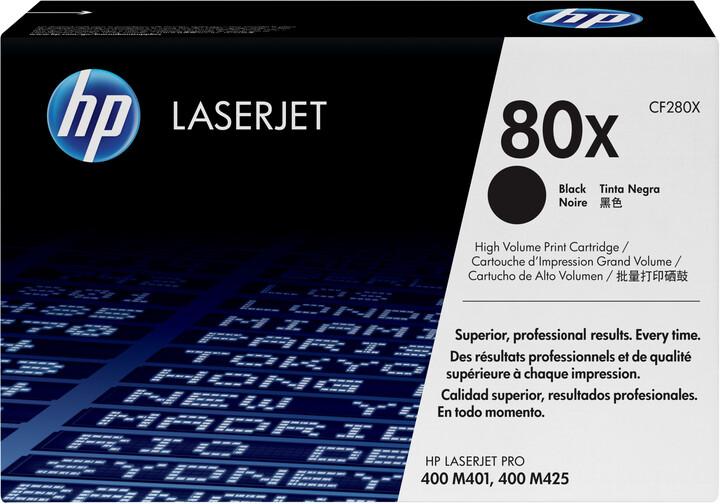 HP CF280XD, černá, 2-pack