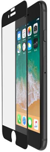 Belkin Tempered Glass ochranné zakřivené sklo displeje pro iPhone 7+/8+ černé, s instalač. rámečkem