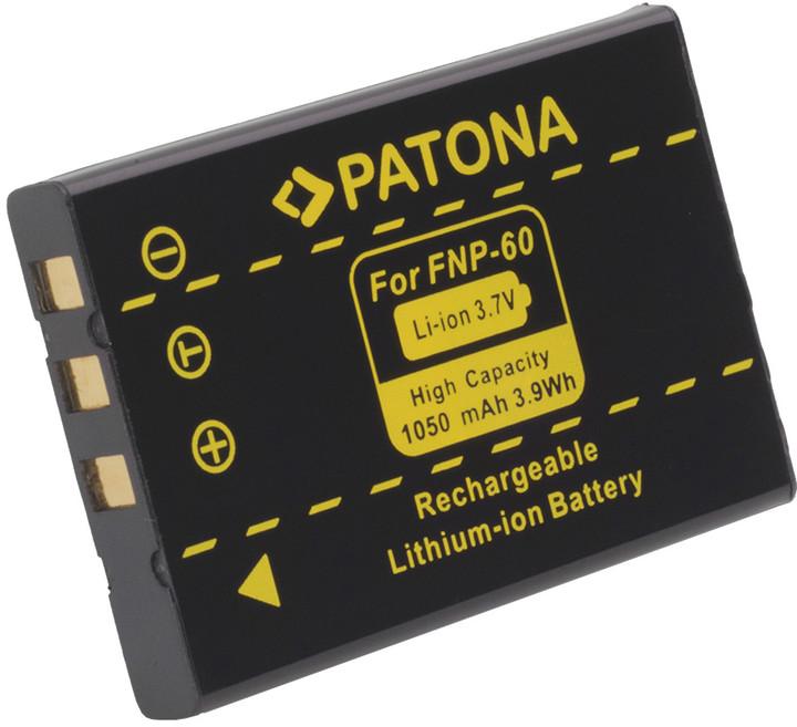 Patona baterie pro Fuji NP-60 1050mAh