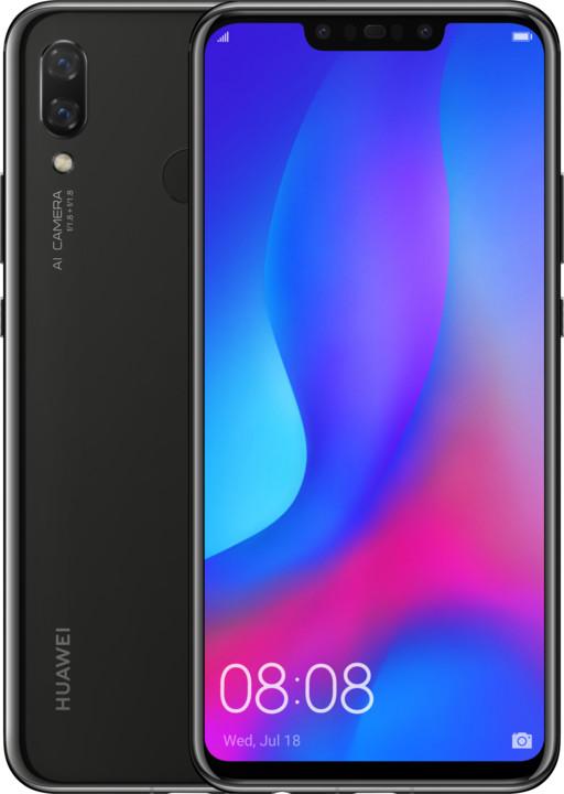 Huawei Nova 3 - 128GB, černá