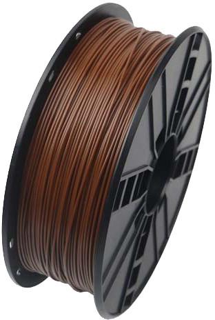 Gembird tisková struna (filament), PLA, 1,75mm, 1kg, hnědá