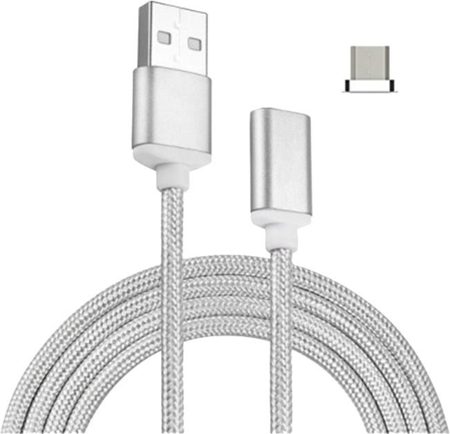 Mobilly magnetický kabel microUSB