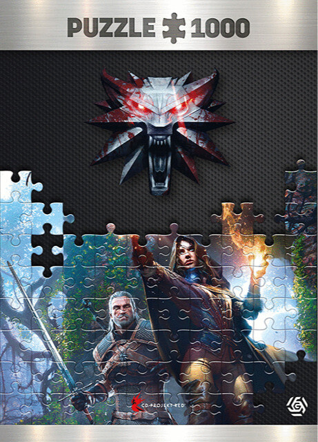 Puzzle The Witcher - Yennefer (Good Loot)