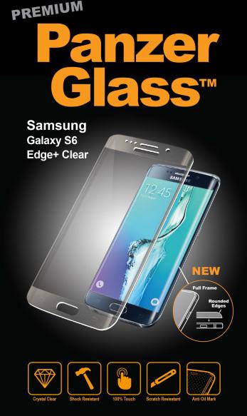 PanzerGlass Premium pro Samsung Galaxy S6 Edge, čiré