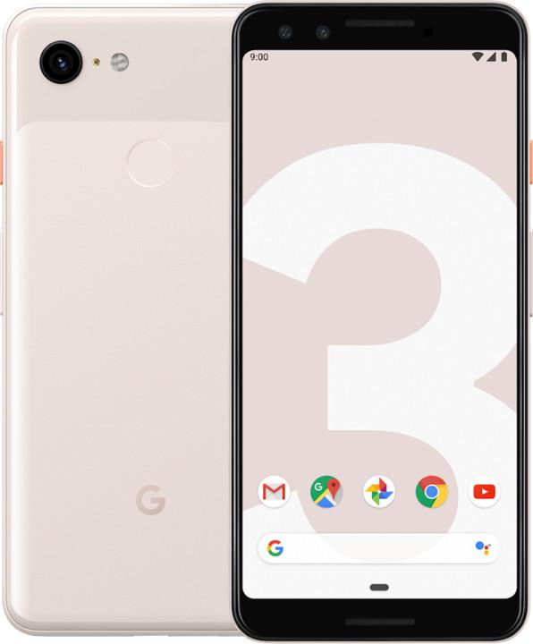 GOOGLE Pixel 3, 4GB/64GB, Pink