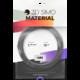 3Dsimo materiál - termochrome (stříbrná)