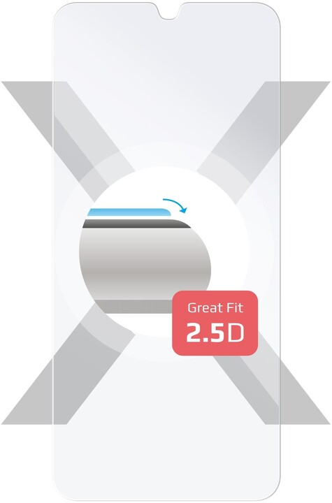 FIXED ochranné tvrzené sklo pro Samsung Galaxy M21, čirá