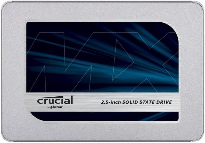 """Crucial MX500, 2,5"""" - 500GB"""