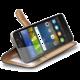 CELLY Wally pouzdro typu kniha pro Huawei Y6 Pro, PU kůže, černé
