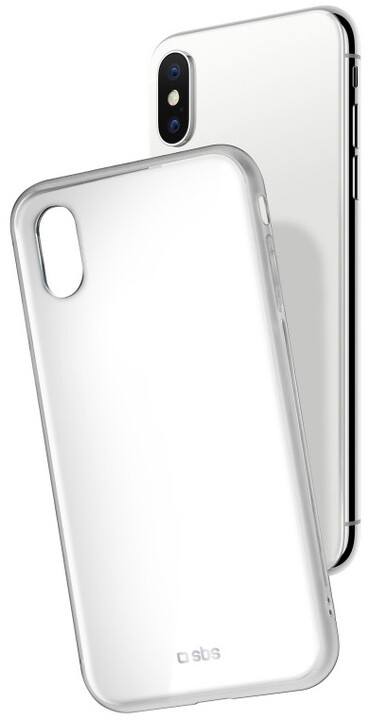 SBS Pouzdro pro iPhone iPhone X, bílá