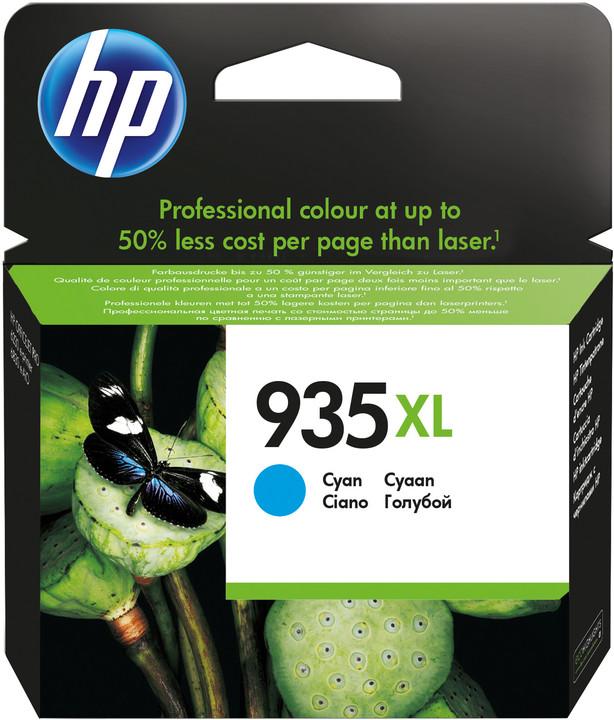 HP C2P24AE náplň č.935XL, cyan