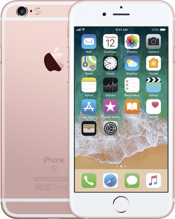 Apple iPhone 6s 32GB, růžová/zlatá