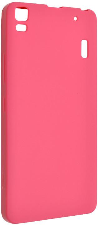 FIXED pouzdro pro Lenovo A7000, růžová
