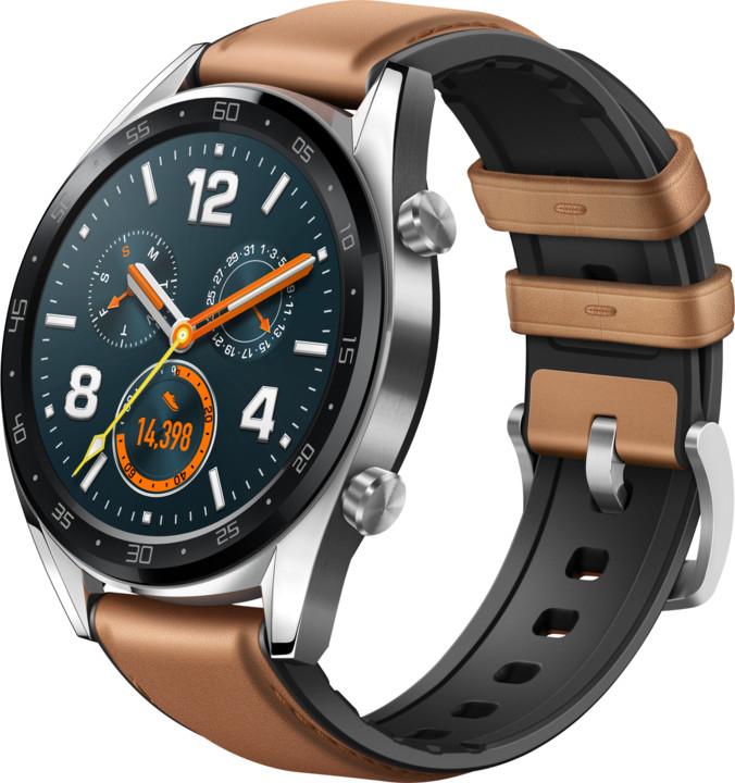 Huawei Watch GT Classic, stříbrná