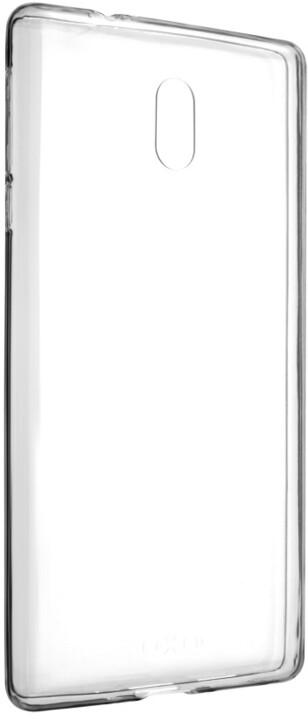 FIXED Skin ultratenké TPU gelové pouzdro pro Nokia 3, 0,5 mm, čiré