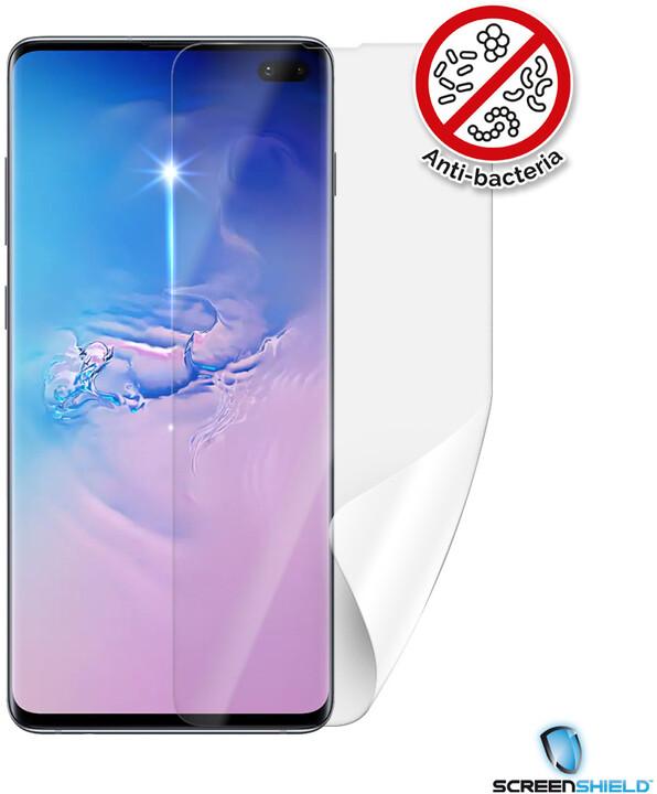 Screenshield ochranná fólie Anti-Bacteria pro Samsung Galaxy S10+